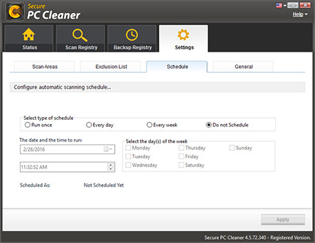 Registry Cleaner Software