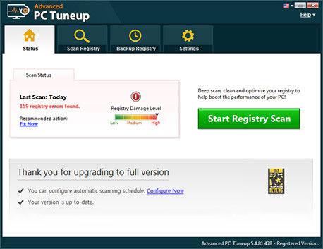 Scan Registry Errors