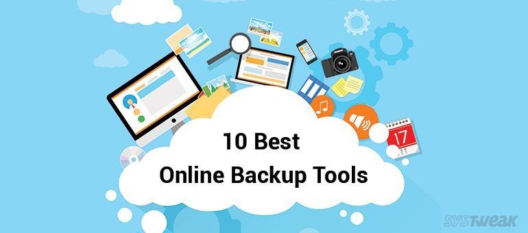 10 best online cloud backup tools