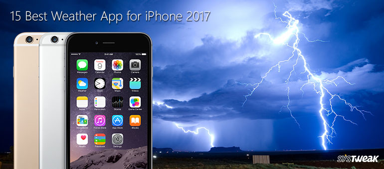 15 best weather app for iPhone
