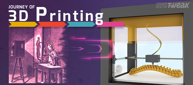 3D printing history by Systweak Software