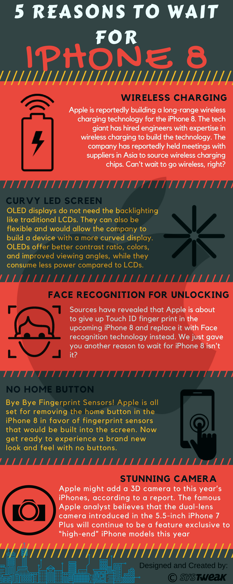 5 Good Reasons You Should Wait To Buy iPhone 8 - Infographic
