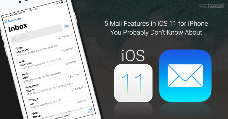 5 Mail Features in iOS 11 for iPhone You Probably Don't Know About