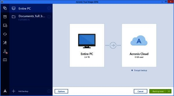 Acronis Cloning Software