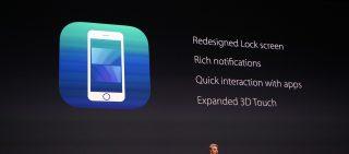 Apple WWDC iOS 10 Enhancements