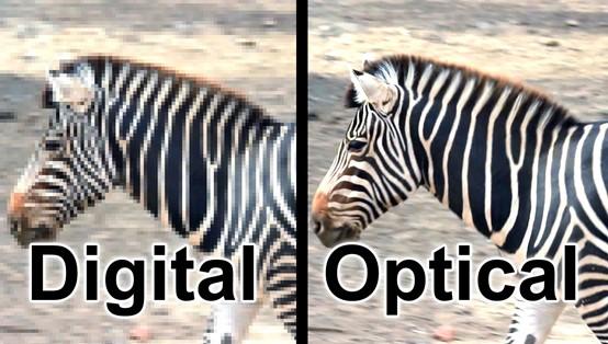 Avoid Digital zoom