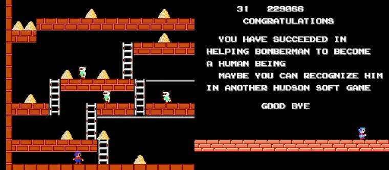Bomberman Lode Runner