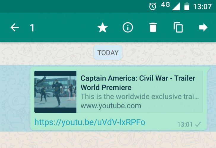 Bookmark on whats app