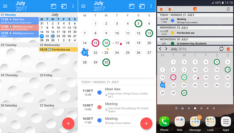 CloudCal Calendar- best calendar app for android 2017