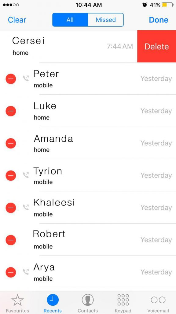 delete-all-call-history-in-iphone
