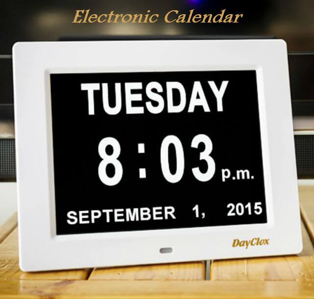 Electronic_Calendar