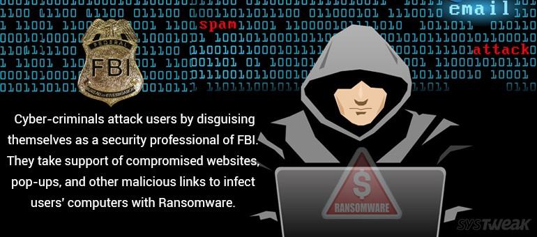 FBI Warned Users Against Ransomware Virus Attacks