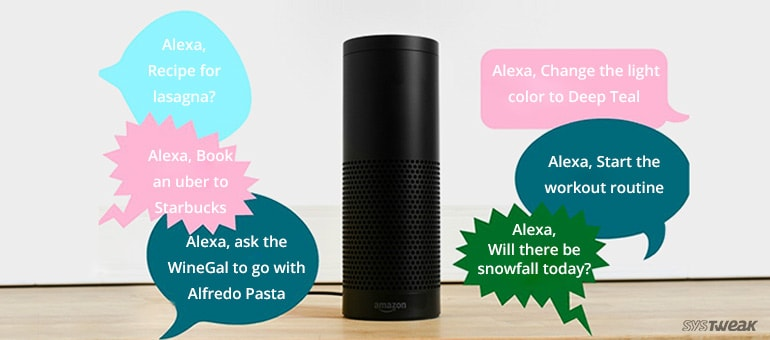 Features of Amazon Intelligent Assistant – ALEXA