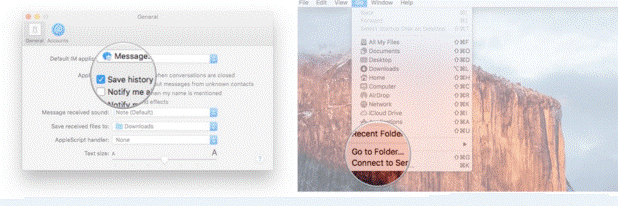 Finding the iMessage Archive File 1