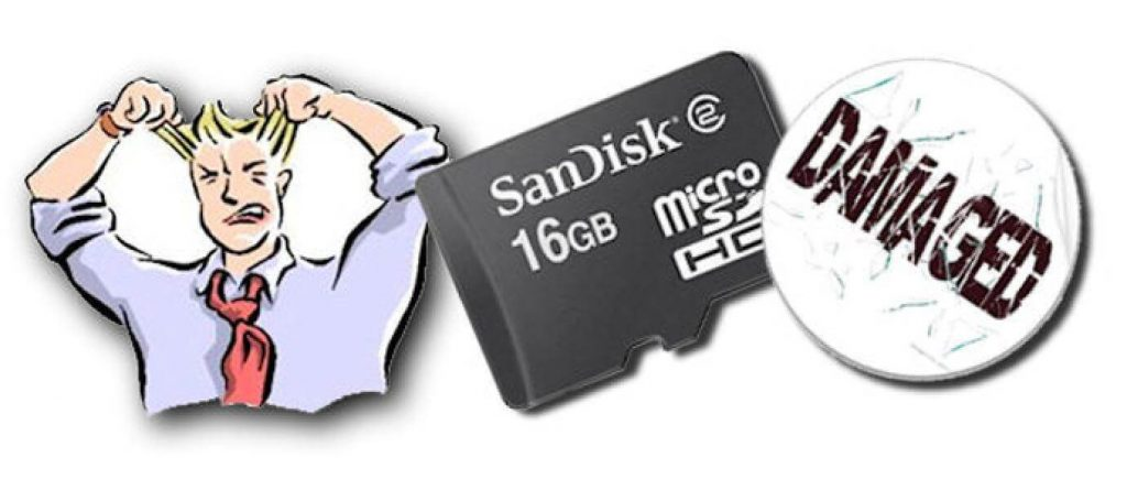 Fix Your Corrupted SD card In Windows 7