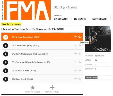 Free Music Archive (FMA)