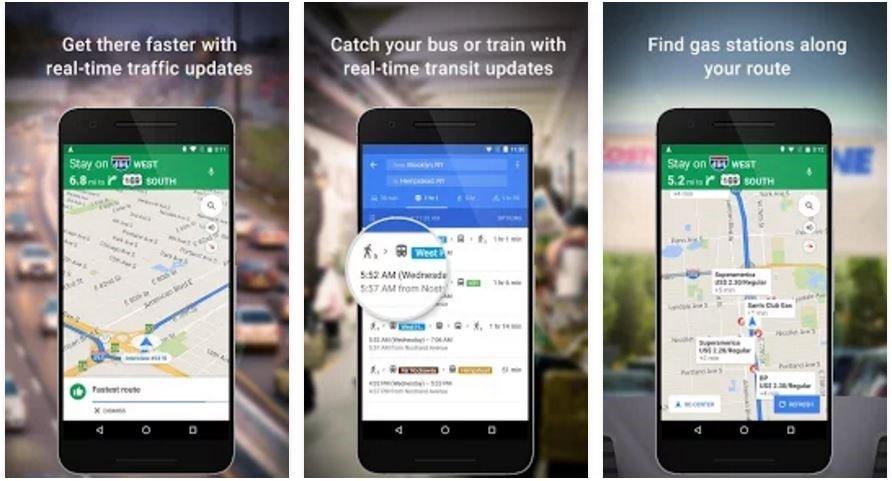 Google Maps - Free GPS Navigation app