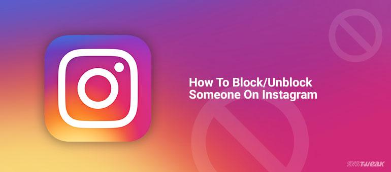How To BlockUnblock Someone On Instagram