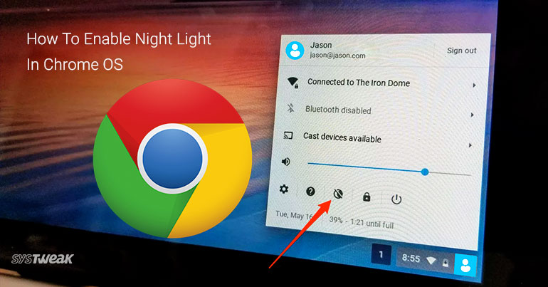 How To Enable Night Light In Chrome OS