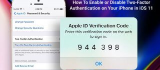How To Enable or Disable Two-Factor Authentication on Your iPhone in iOS