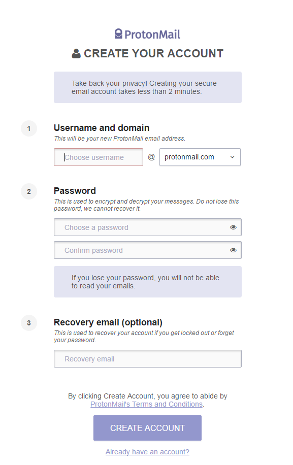 How to Send and Receive Encrypted Emails Using ProtonMail-min