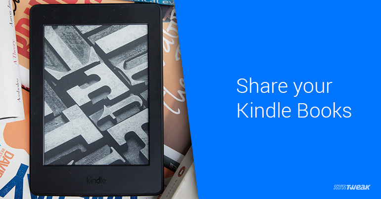 How to Share Books on Kindle