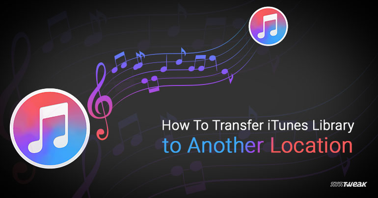 how to change itunes library