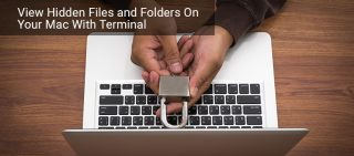 How to View Hidden Files and Folders On Your Mac With Terminal
