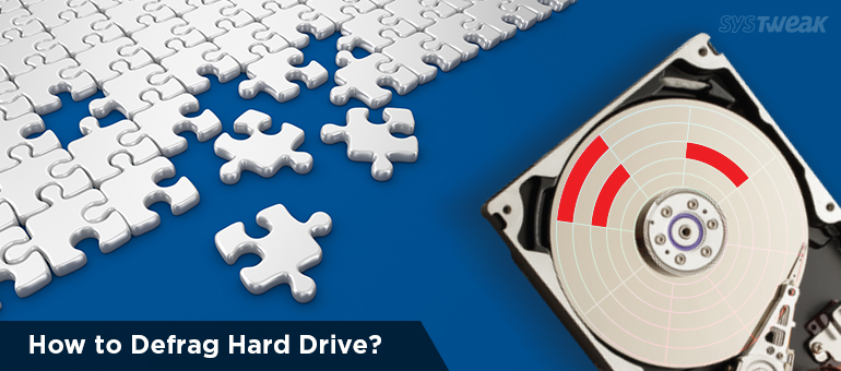 How to defragment hard drive