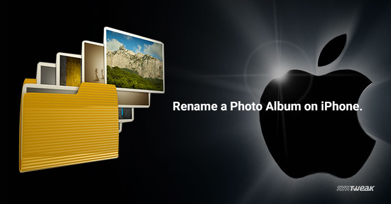 How to rename a Photo album on iPhone-