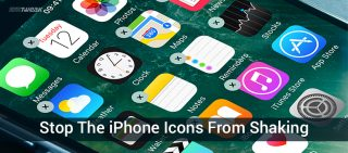 Is Your iPhone's Icons Shaking, Fix It On Your Own!