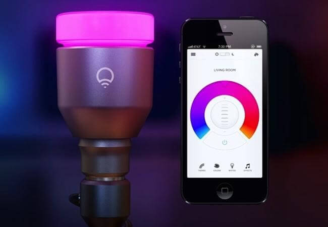 LIFX Wi-Fi Enabled Multicolor Dimmable LED Light Bulb