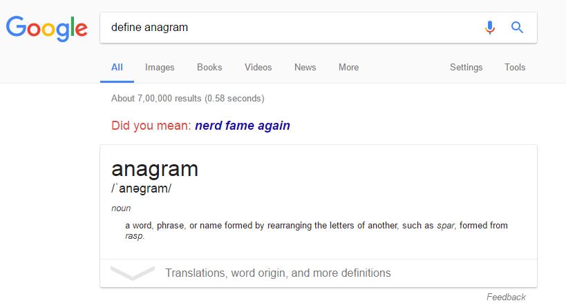 make-anagram-on-google