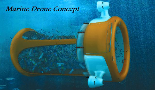 Marine Drone Concepts