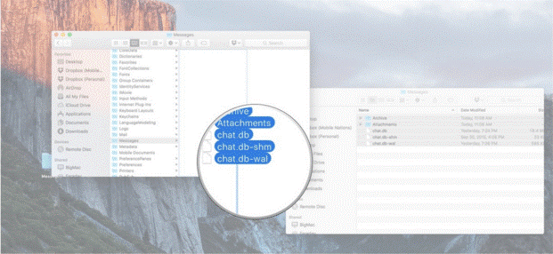 Moving your Messages to new Mac 2