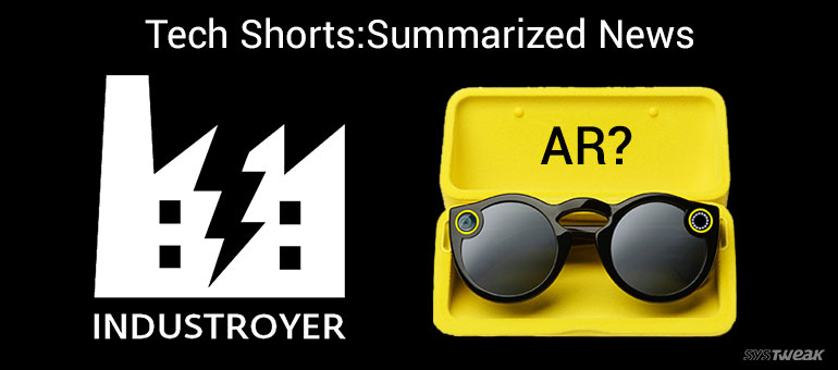 Newsletter New Electricity Hogging Cyber Weapon & Snapchat Ar Spectacles