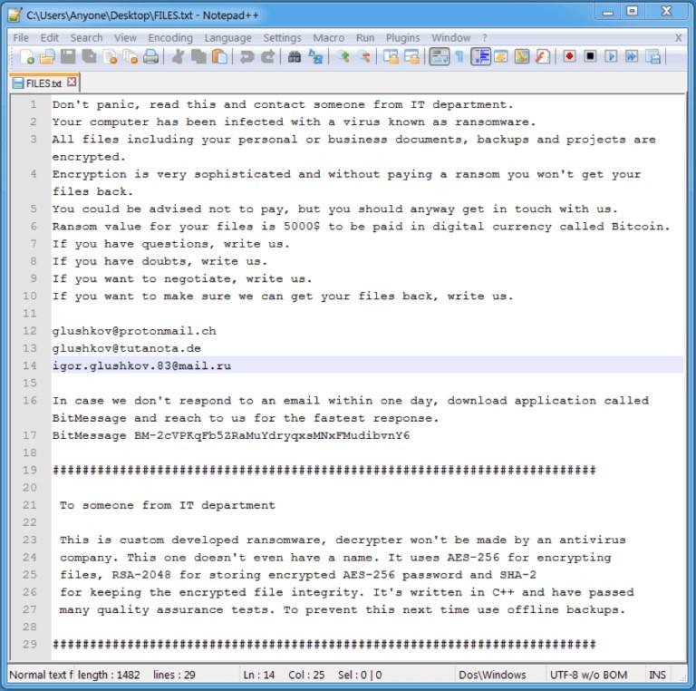 Notepad++ files