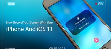 Now Record Your Screen With Your iPhone And iOS 11
