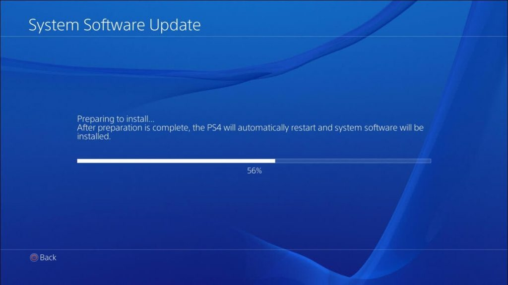 PS4 installing process on PC
