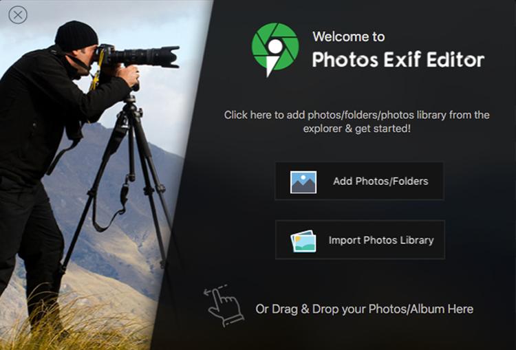 photo-exif-editor-start-screen