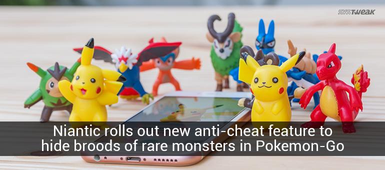 Pokémon Go anti-cheat update