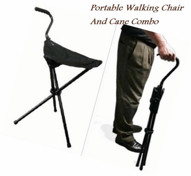 Portable_WalkingChair_Cane_Combo
