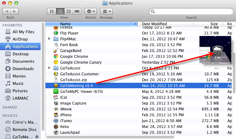 Remove Unnecessary Programs on mac