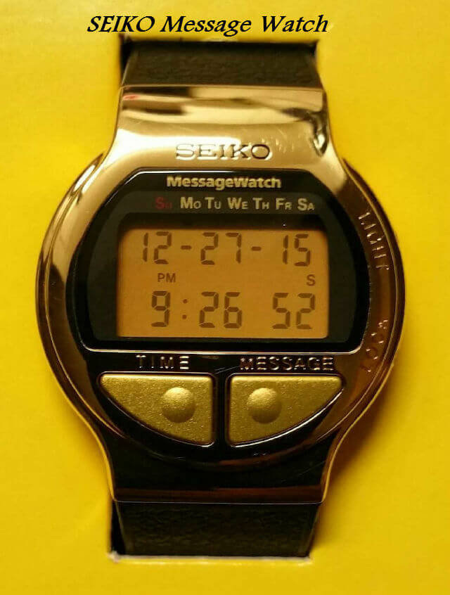 Seiko Message Watch