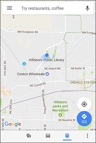 Share your Current Location via Google Maps