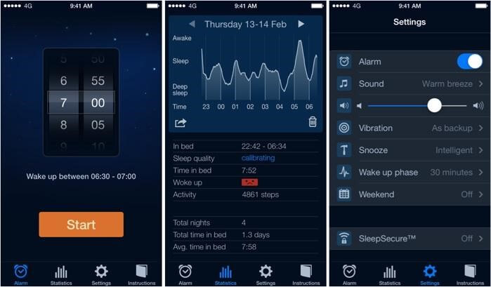 Sleep Cycle alarm clock- best sleep tracking app