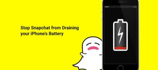 Snapchat Draining Your iPhone's Battery Life Here's How to STOP!