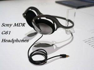 Sony MDR-G61 headphones