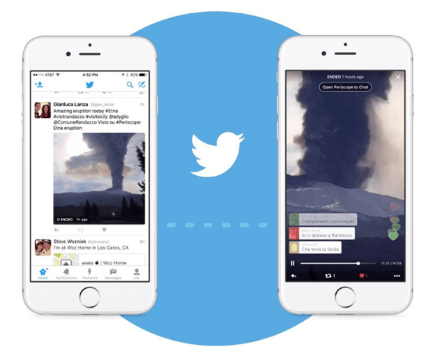 Twitter- texting app on iphone 2017