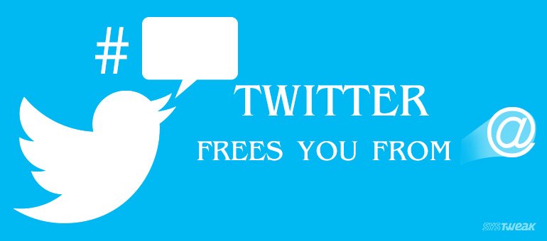Twitter frees you from @